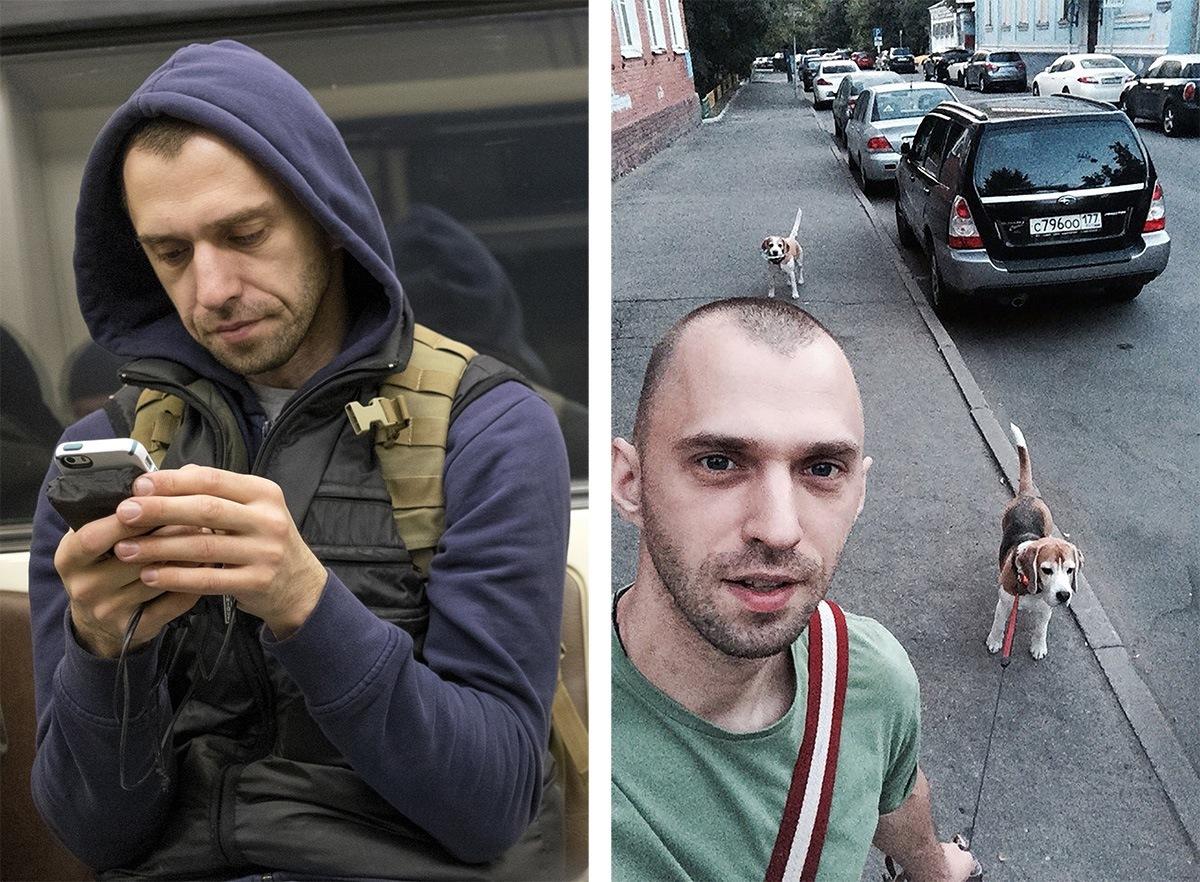 Питерский фотограф сравнил пассажиров метро с их профилями «ВКонтакте» - 2