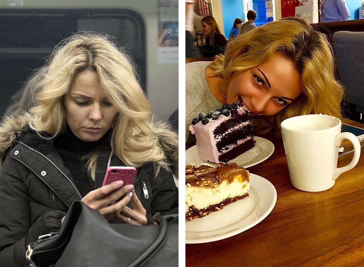 Питерский фотограф сравнил пассажиров метро с их профилями «ВКонтакте» - 3