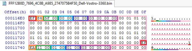 Устройство NVRAM в UEFI-совместимых прошивках, часть третья - 10