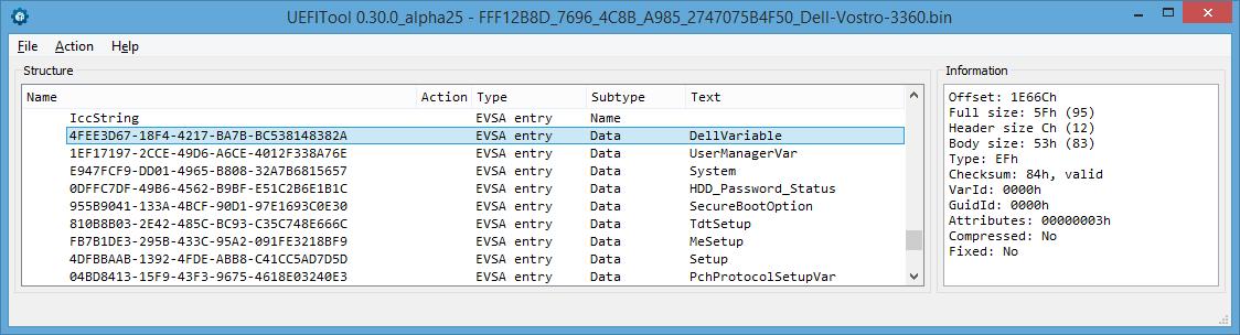 Устройство NVRAM в UEFI-совместимых прошивках, часть третья - 11