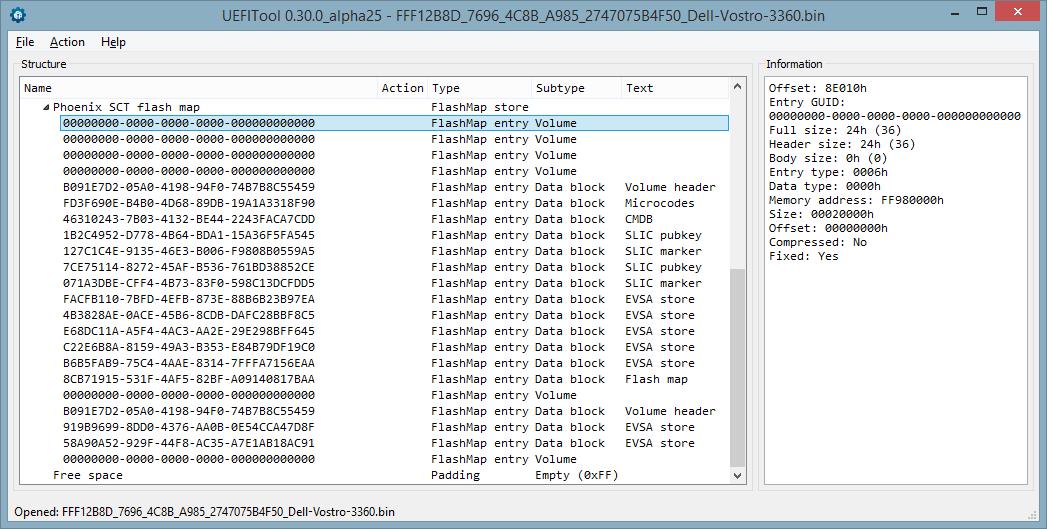 Устройство NVRAM в UEFI-совместимых прошивках, часть третья - 3