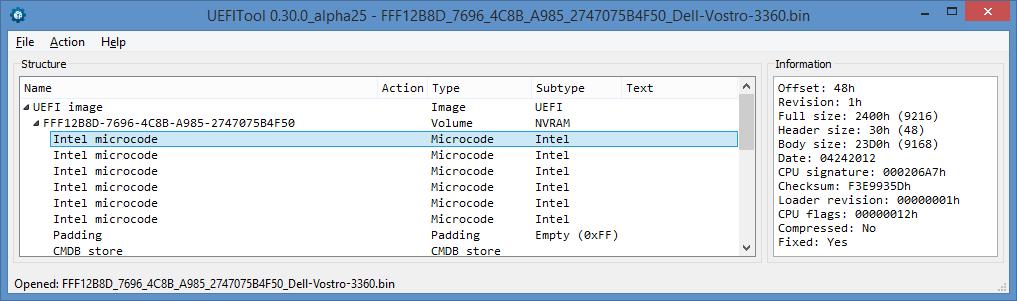 Устройство NVRAM в UEFI-совместимых прошивках, часть третья - 5