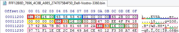 Устройство NVRAM в UEFI-совместимых прошивках, часть третья - 7