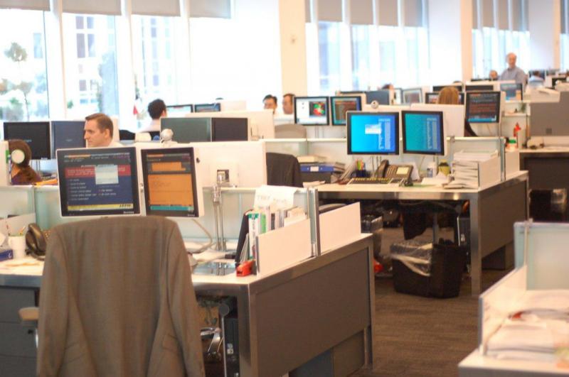 В каких условиях трудятся финансисты: Экскурсия по офисам Goldman Sachs и Bloomberg - 10