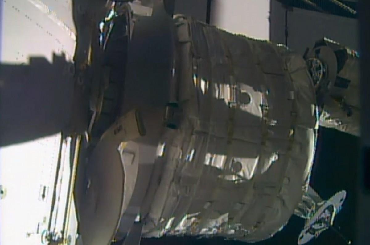 На МКС закрепили надувной модуль BEAM - 2