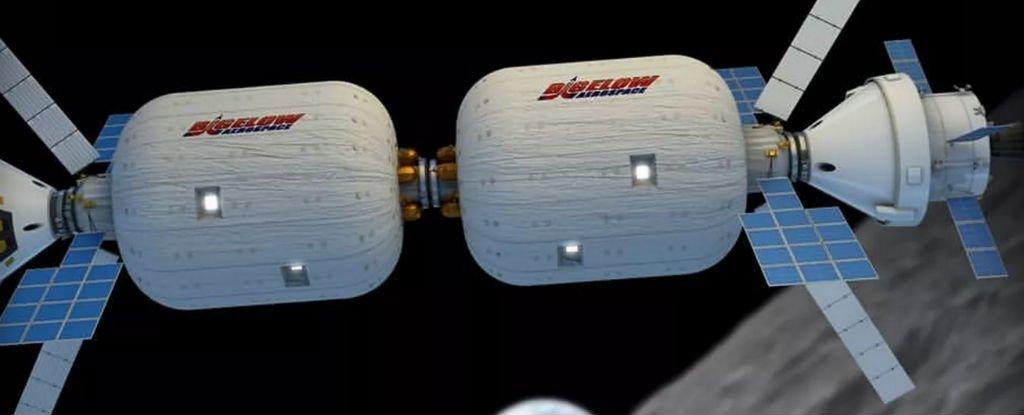 На МКС закрепили надувной модуль BEAM - 3