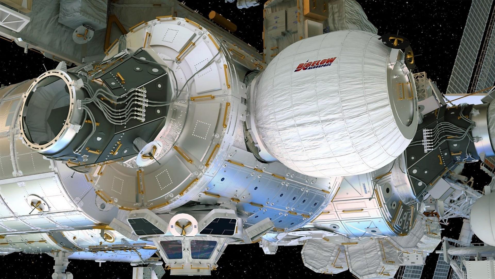 На МКС закрепили надувной модуль BEAM - 1