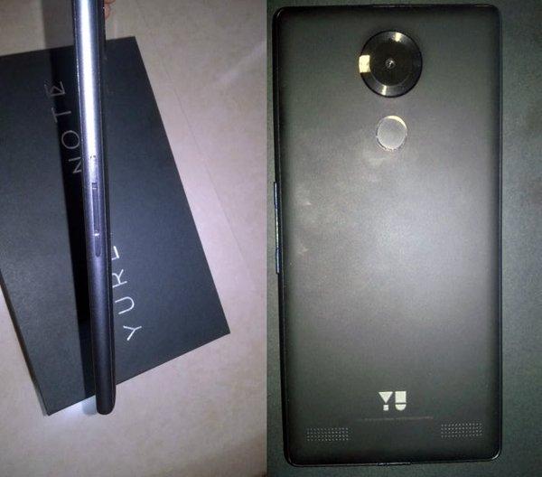 Шестидюймовый смартфон Yu Yureka Note получил аккумулятор емкостью 4000 мА•ч