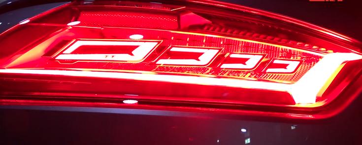 Автомобиль Audi TT RS нового поколения получит оптику OLED