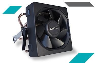 AMD комплектует процессоры FX-8350 и FX-6350 кулерами Wraith