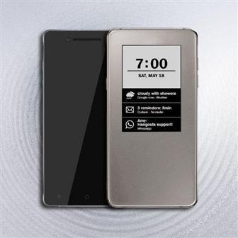 E Ink предлагает использовать дисплей диагональю 2,9 дюйма в качестве второго экрана для смартфонов