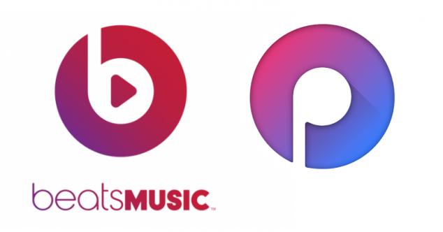 логотип Moosic представляет из себя перевёрнутый и недорисованный логотип Beats Music (закрывшийся музыкальный сервис принадлежащий Apple)