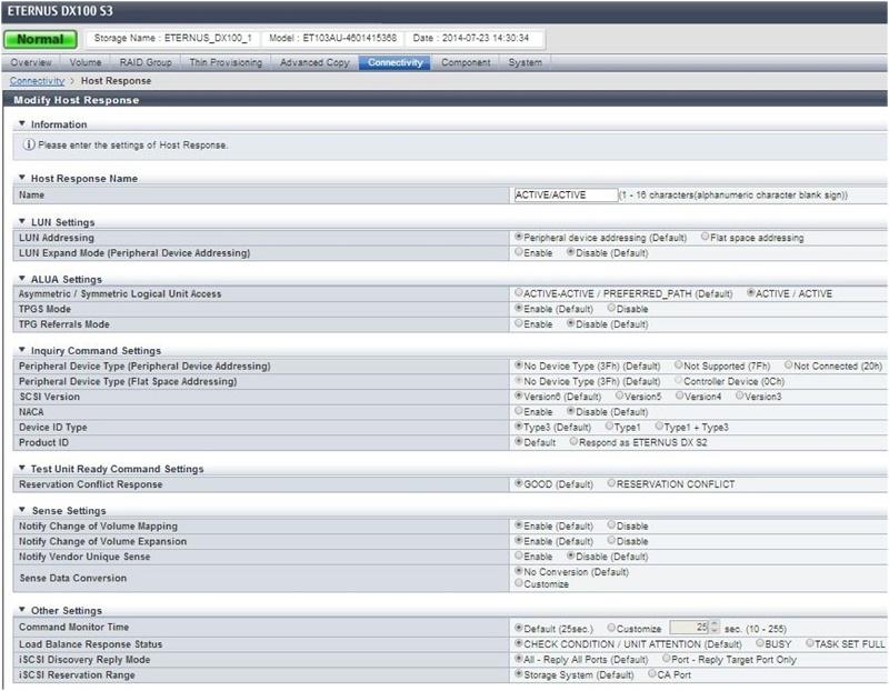 Обзор и тест СХД Fujitsu ETERNUS DX 100 S3 - 5