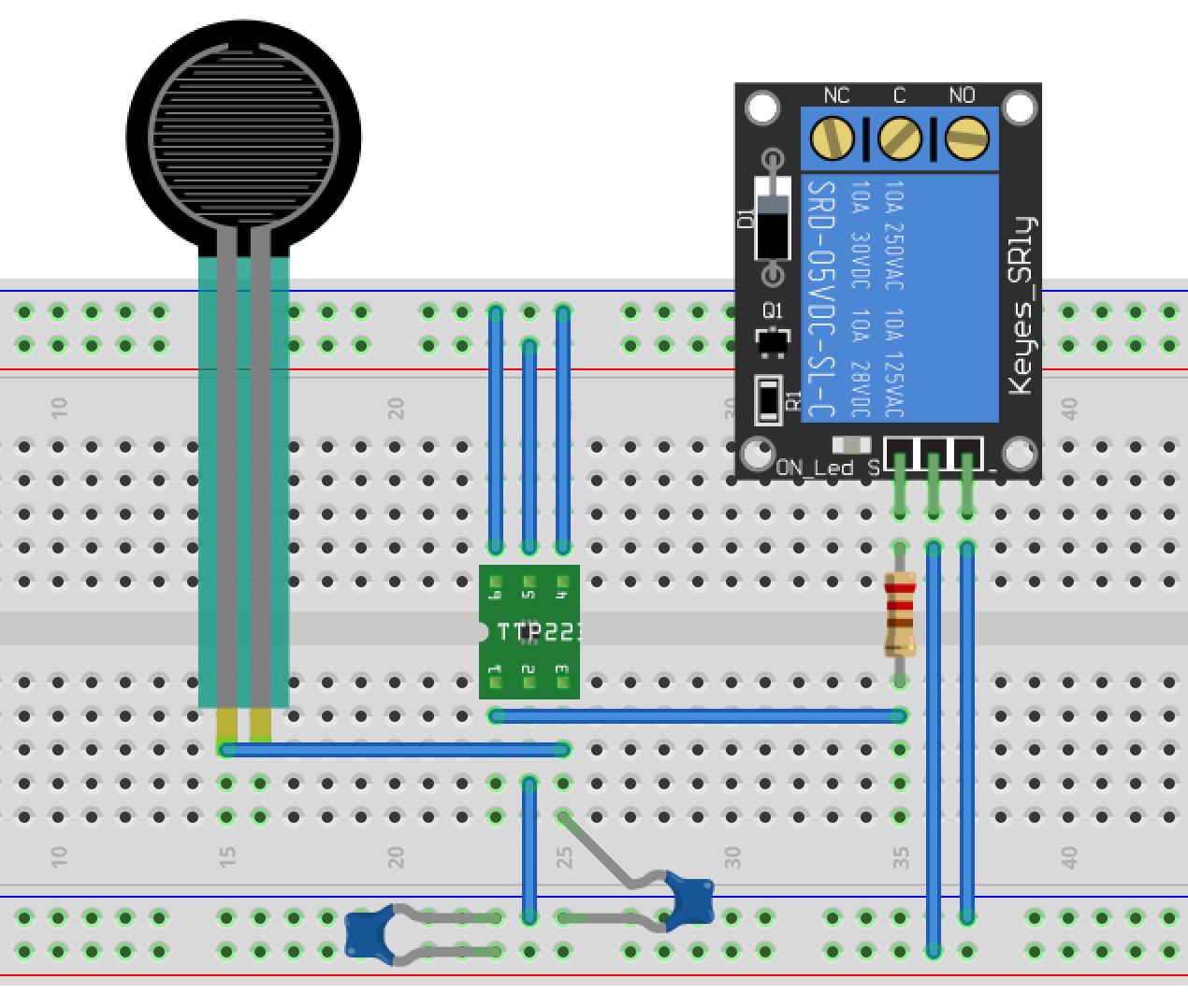 Переделка кнопочного радио выключателя в сенсорный - 3