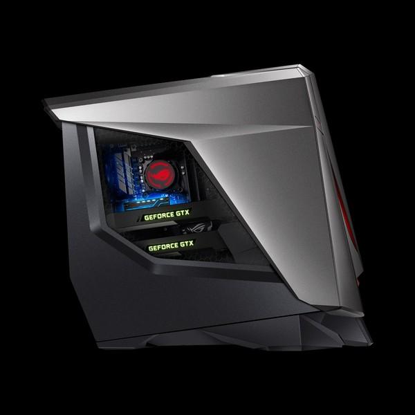 Игровой ПК Asus ROG GT51CA позволяет установить три видеокарты