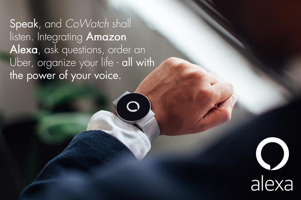 Часы CoWatch работают под управлением Cronologics OS