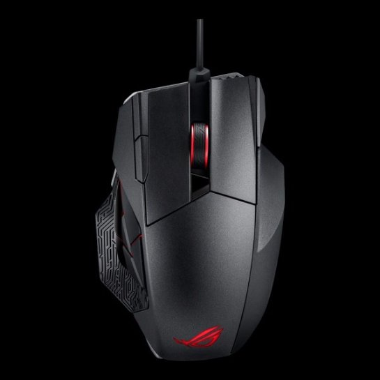 ROG Spatha- компьютерная мышка для любителей ММО