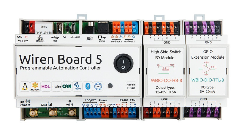 Wiren Board 5: снова на Хабре с новой версией контроллера для автоматизации - 1
