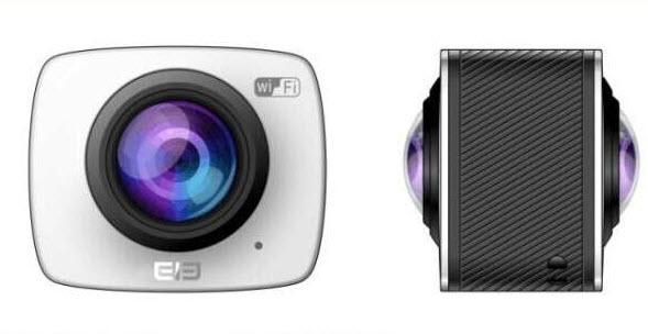 Камера Elephone EleCamera 360 предназначена для создания панорамных роликов