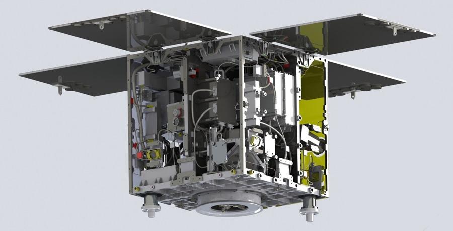 Микроспутник для большого космоса - 3