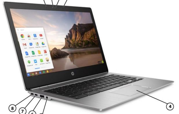 Новый хромбук HP Chromebook 13 G1 получит металлический корпус