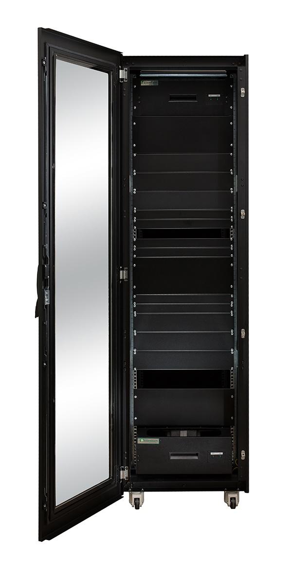 Серверный шкаф с интеллектуальным активным шумоподавлением - 15
