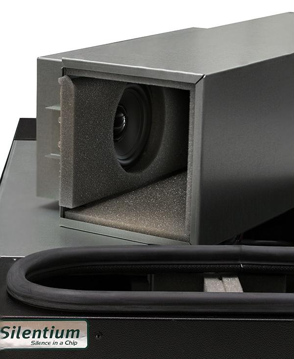 Серверный шкаф с интеллектуальным активным шумоподавлением - 25