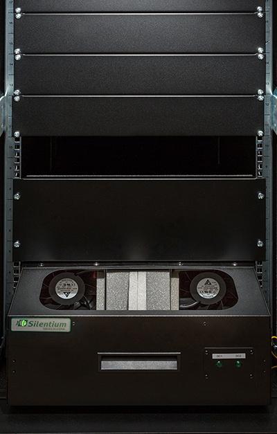 Серверный шкаф с интеллектуальным активным шумоподавлением - 1