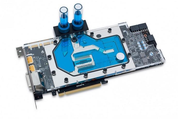 Водоблок EK-FC980 GTX Ti XG стоит 120 евро