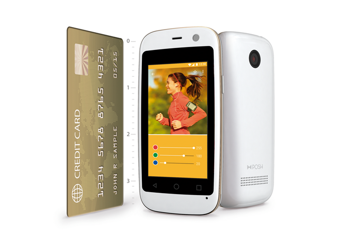 Posh Micro X S240 — самый маленький смартфон с Android