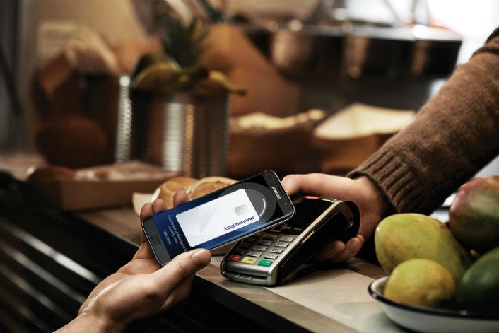 Samsung начала сотрудничать с производителями терминалов оплаты