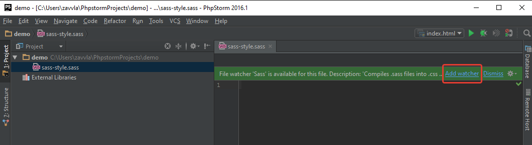 Настройка PhpStorm для вёрстки на ОС Windows - 66