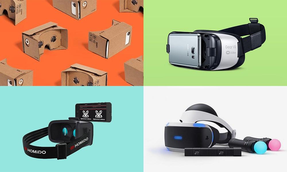 Классификация устройств виртуальной реальности