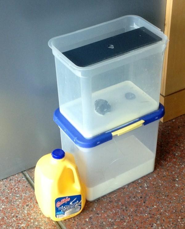 3D-сканер из молока и смартфона - 1