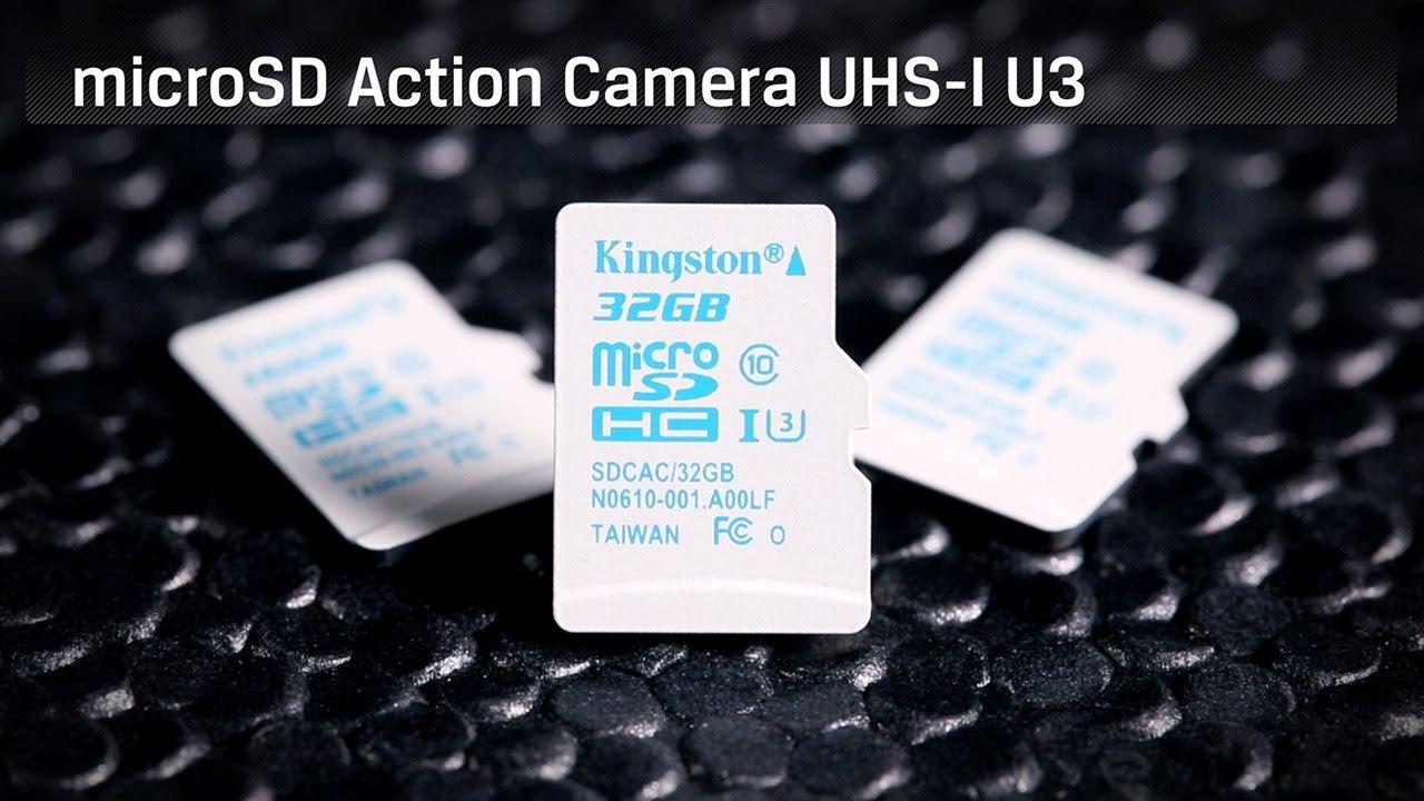 Kingston представляет специальную карту памяти microSDXC для экшен-камер - 1