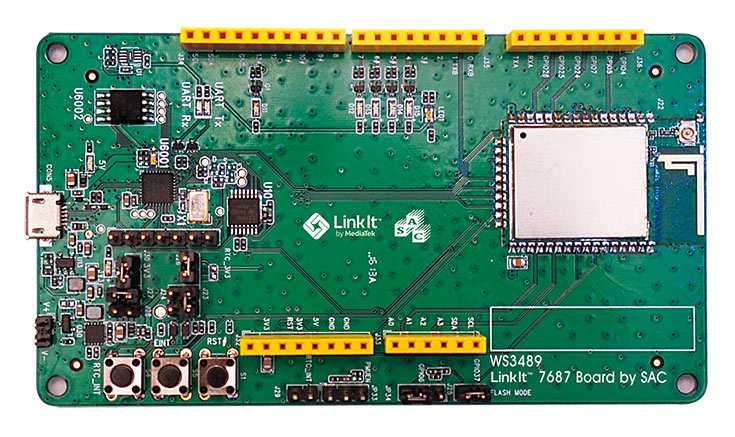 Основой HDK служит однокристальная система MediaTek MT7687F с поддержкой Wi-Fi