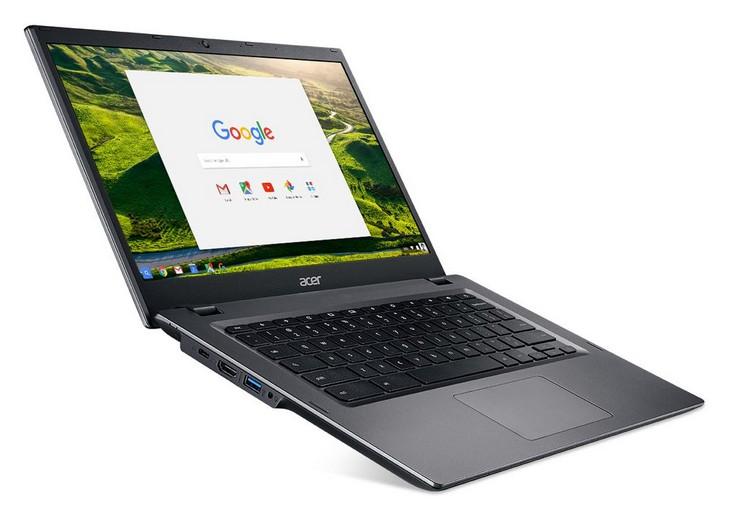 Хромбук Acer Chromebook 14 for Work оснащается процессорами Intel Core Skylake
