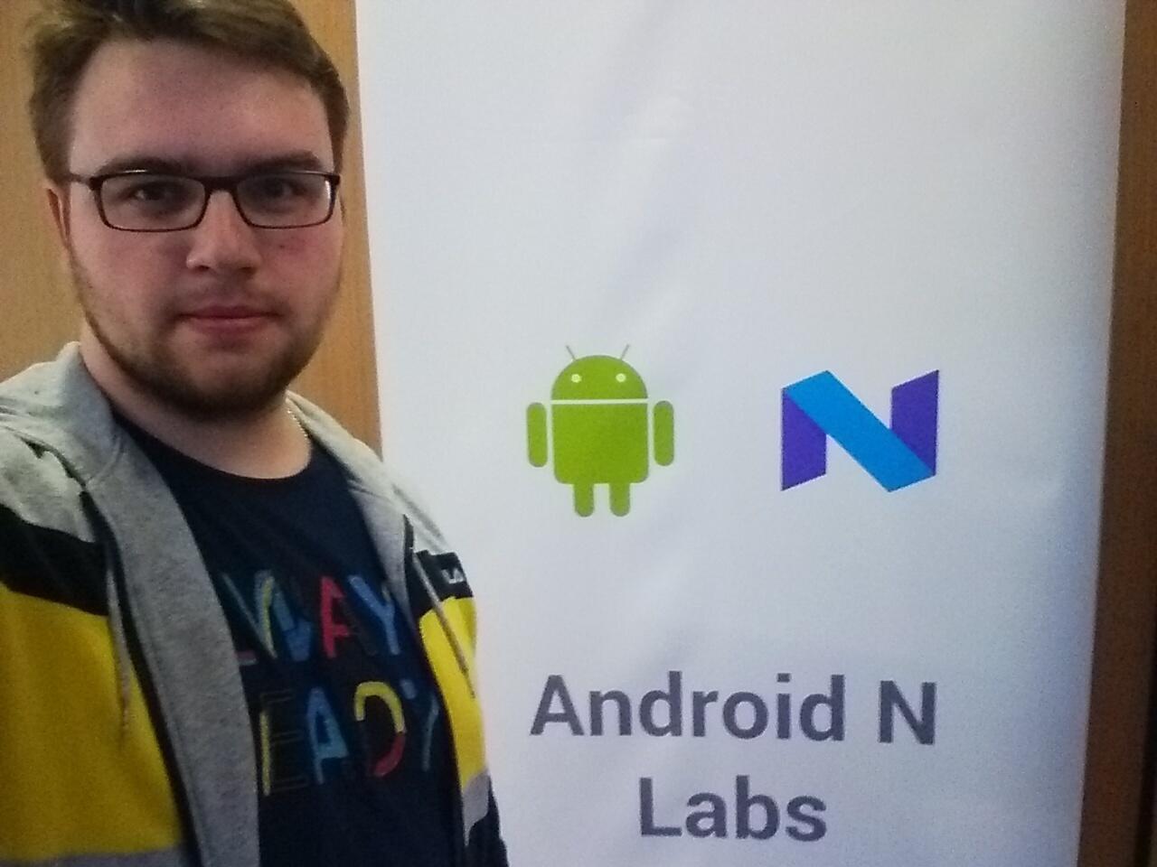 Как Google в Лондоне тренинг по Android N устраивала - 10