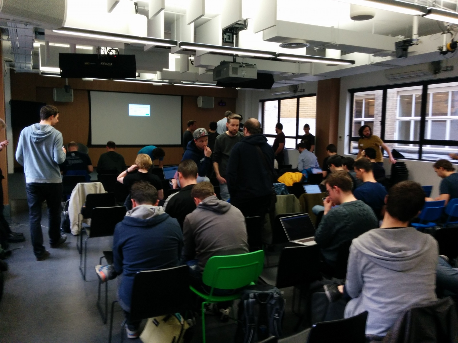 Как Google в Лондоне тренинг по Android N устраивала - 3