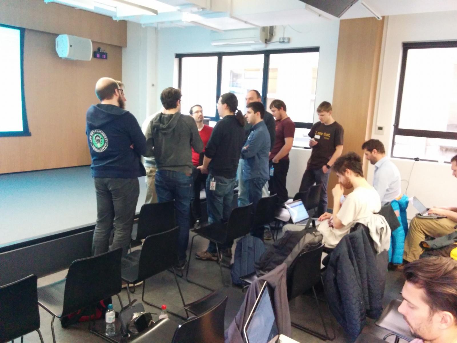 Как Google в Лондоне тренинг по Android N устраивала - 5
