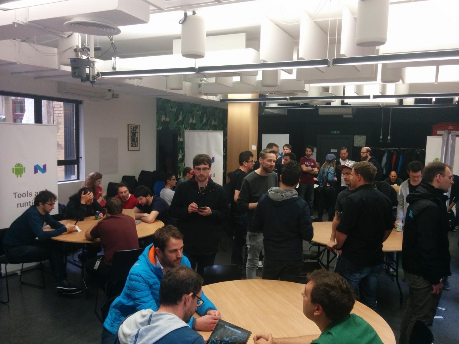 Как Google в Лондоне тренинг по Android N устраивала - 7