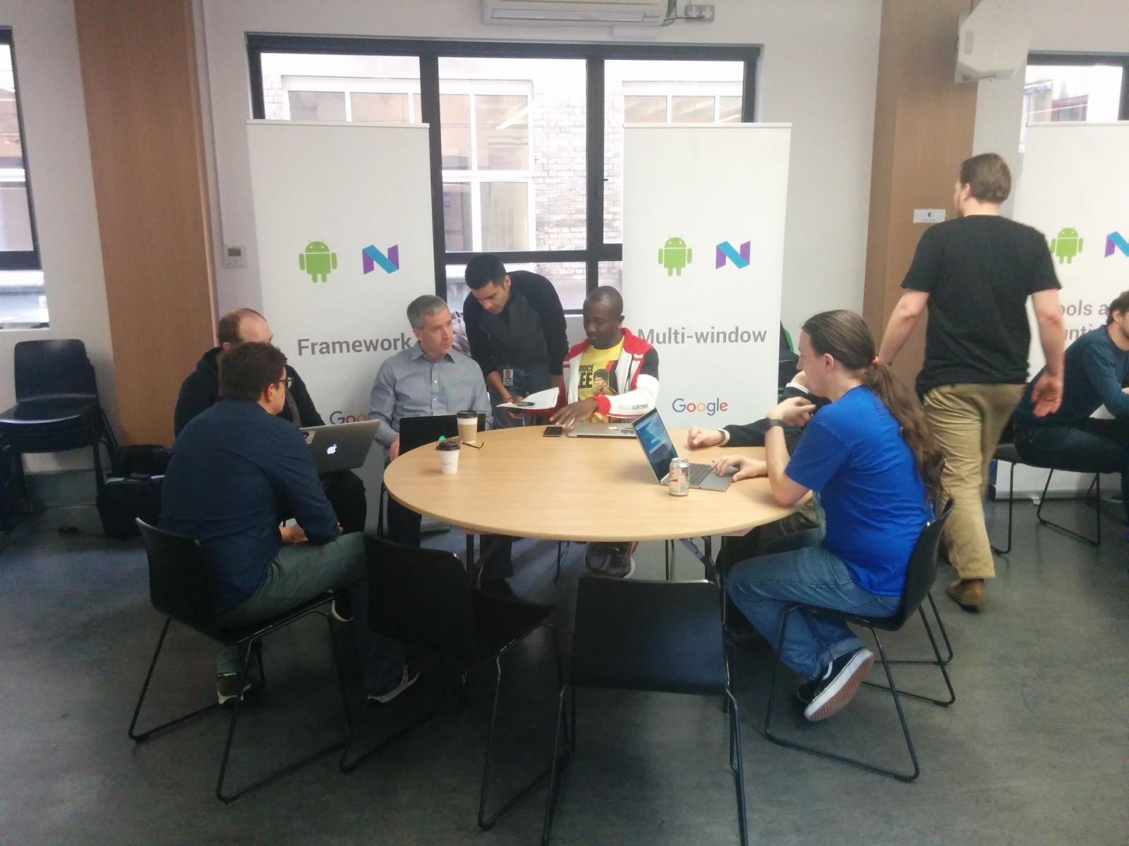 Как Google в Лондоне тренинг по Android N устраивала - 8