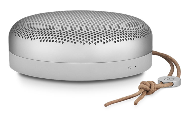 Мобильная акустическая система Bang & Olufsen BeoPlay A1 предложена в серебристом и зеленом цветах