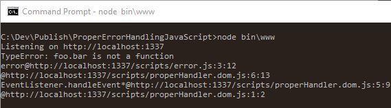 Правильная обработка ошибок в JavaScript - 2