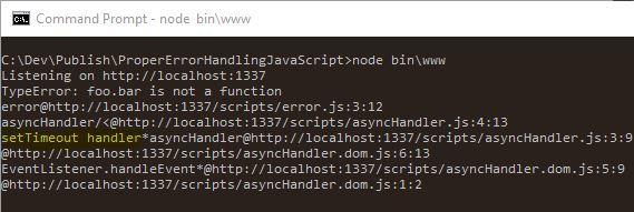 Правильная обработка ошибок в JavaScript - 3