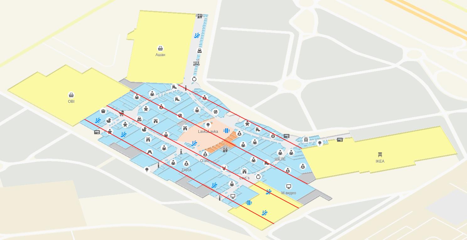 Этажи: 3D-навигация на WebGL в 2gis.ru - 15