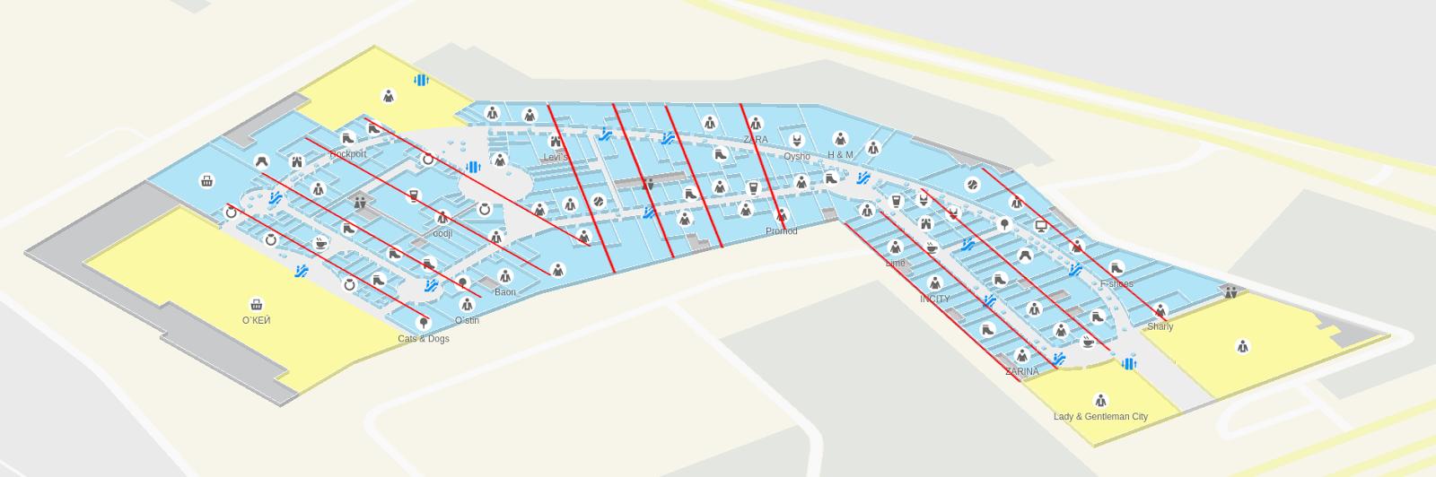 Этажи: 3D-навигация на WebGL в 2gis.ru - 16