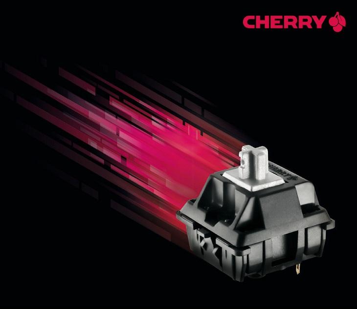 Переключатели Cherry MX Speed уже стали частью готовых продуктов
