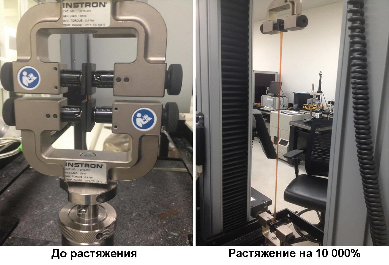 Новый эластомер растягивается до 100х от своего размера и восстанавливается после повреждений - 1