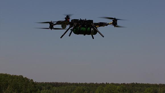 Российский октакоптер на водороде установил мировой рекорд по длительности полета: 3 часа 10 минут - 1